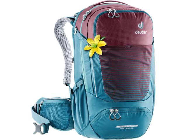 Deuter Trans Alpine Pro 26 SL Backpack Women maron-arctic